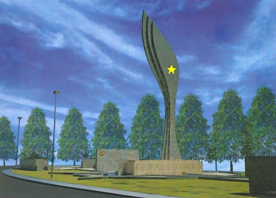 Maqueta del Monumento