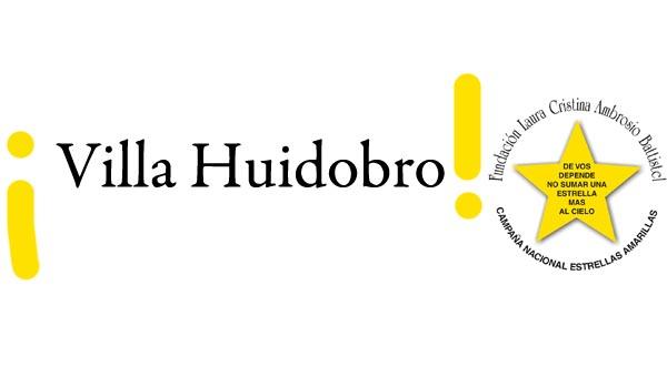 Villa Huidobro se suma a la Campaña Estrellas Amarillas