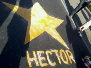 Pintaron por Héctor Cárdenas
