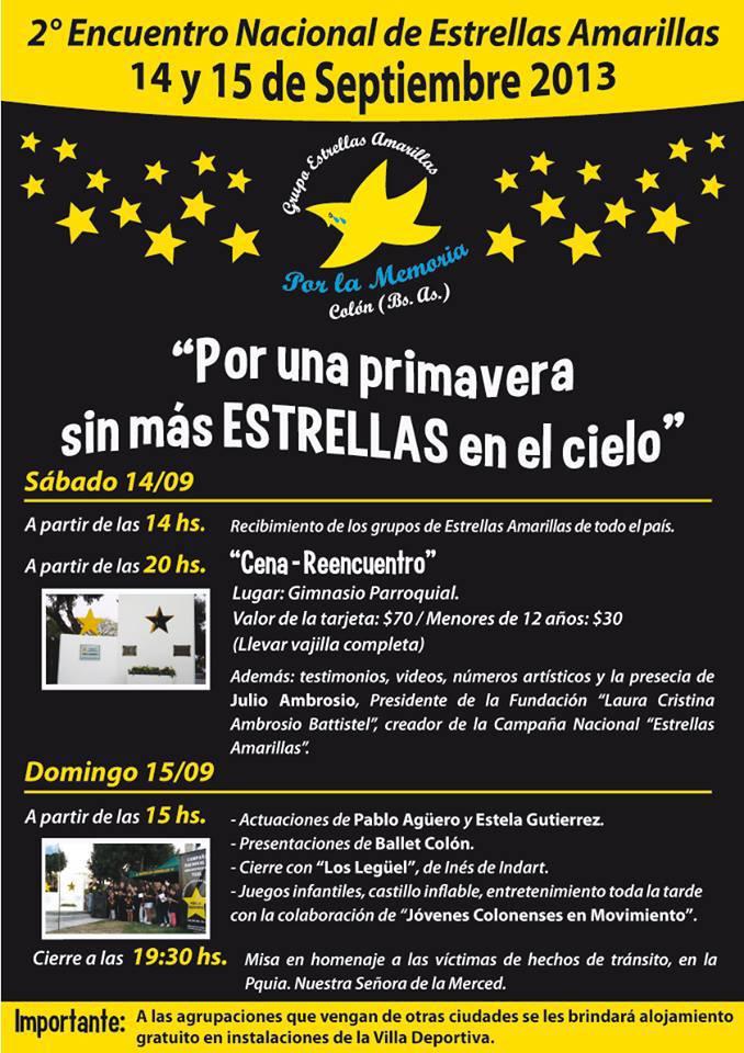 Panfleto 2° Encuentro Nacional EA