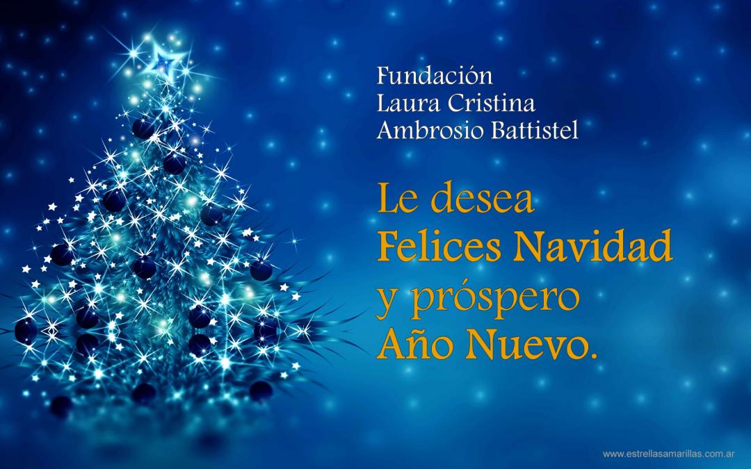 ¡Feliz Navidad y Próspero Año 2020!