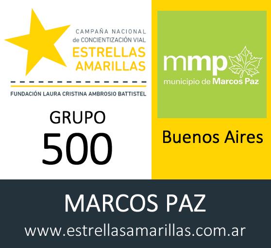 Bienvenido Grupo 500 Marcos Paz – BUENOS AIRES